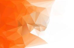 De abstracte achtergrond van de veelhoekdriehoek Stock Afbeelding