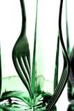 De Abstracte Achtergrond van de vork Stock Foto's