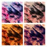 De abstracte achtergrond van de waterkleur stock afbeeldingen