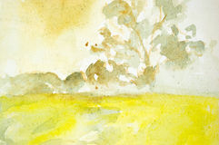 De abstracte achtergrond van de waterverf Royalty-vrije Stock Afbeelding