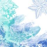 De abstracte achtergrond van de waterverf Royalty-vrije Stock Foto's