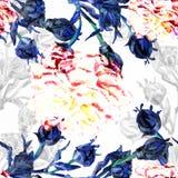 De abstracte achtergrond van de waterverf album Royalty-vrije Stock Fotografie