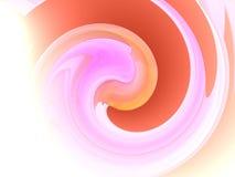 De abstracte achtergrond van de werveling vector illustratie