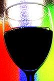 De abstracte Achtergrond van de Wijn Stock Foto