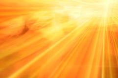 De Abstracte Achtergrond van de zonneschijn Stock Afbeeldingen