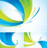 De abstracte achtergrond van Duotone stock illustratie