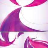De abstracte achtergrond van Duotone royalty-vrije illustratie