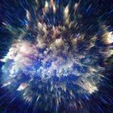 De abstracte Achtergrond van de Explosie Stock Afbeeldingen