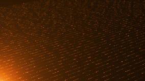 De abstracte achtergrond van goud heeft licht, het fonkelen en deeltjes Starburst met naadloos gouden licht stock illustratie