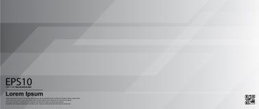 De abstracte achtergrond van de gradiënt grijze kleur/Affiche, bannermalplaatje stock illustratie