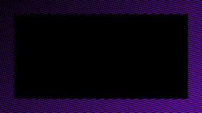 De abstracte achtergrond van grensduotone Hypnose purper halftone psychedelisch art. Het element van het ontwerpkader stock illustratie