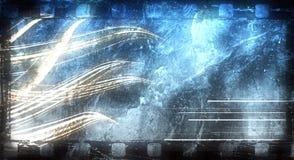 De abstracte achtergrond van Grunge Stock Afbeeldingen