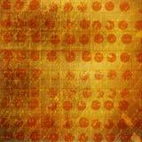 De abstracte achtergrond van Grunge met handwritetekst Royalty-vrije Stock Fotografie