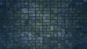 De abstracte achtergrond van Grungevierkanten Stock Afbeeldingen