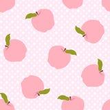 De abstracte achtergrond van het appelpatroon Royalty-vrije Stock Foto