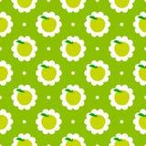 De abstracte achtergrond van het appelpatroon Royalty-vrije Stock Afbeelding