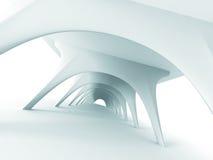 De abstracte Achtergrond van het Architectuur Futuristische Moderne Ontwerp Royalty-vrije Stock Fotografie