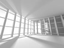De abstracte Achtergrond van het Architectuur Moderne Ontwerp Royalty-vrije Stock Fotografie