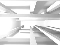 De abstracte Achtergrond van het Architectuur Moderne Ontwerp Stock Fotografie