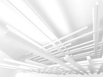 De abstracte Achtergrond van het Architectuur Moderne Ontwerp Stock Foto