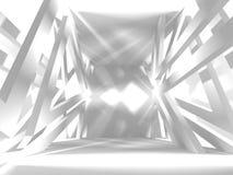 De abstracte Achtergrond van het Architectuur Moderne Ontwerp Stock Afbeelding