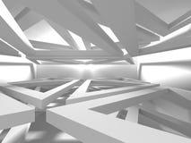 De abstracte Achtergrond van het Architectuur Moderne Ontwerp Stock Foto's