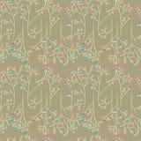 De abstracte achtergrond van het bomen naadloze patroon Royalty-vrije Stock Fotografie