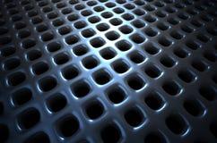 De abstracte achtergrond van het chroom Stock Fotografie