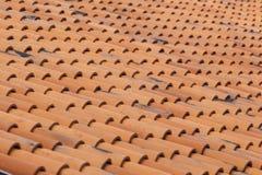 De abstracte achtergrond van het dak Stock Afbeelding