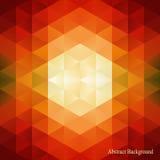 De abstracte achtergrond van het driehoekenpatroon Kan voor dekkingsboek, brochure, tijdschrift, vlieger, boekje worden gebruikt  stock illustratie