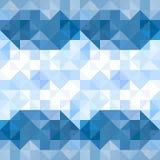 De abstracte achtergrond van het driehoekenpatroon Water en Hemel geometrische B vector illustratie