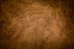 De abstracte achtergrond van het grunge geel-bruin Stock Foto