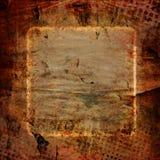 De abstracte achtergrond van het grungekader Stock Foto