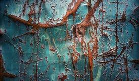 De abstracte achtergrond van het grungemetaal Stock Fotografie