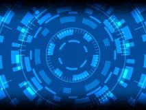 De abstracte achtergrond van het het concepten toekomstige futuristische ontwerp van de technologieinnovatie Royalty-vrije Stock Foto's