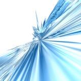 De abstracte achtergrond van het ijs Stock Fotografie