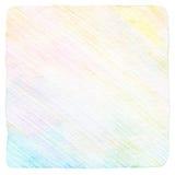 De abstracte achtergrond van het kleurenpotlood Stock Foto