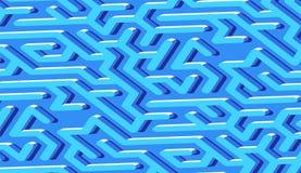 De abstracte achtergrond van het labyrintpatroon met labyrint voor affiche of behang stock illustratie