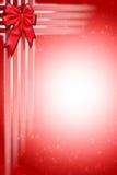 De Abstracte Achtergrond van het Lint van Kerstmis Stock Afbeeldingen