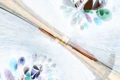 De abstracte Achtergrond van het Medicijn Stock Fotografie