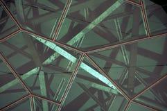 De abstracte achtergrond van het metaaldak Stock Foto's