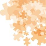 De abstracte achtergrond van het monocolorraadsel Royalty-vrije Stock Afbeeldingen