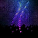 De abstracte achtergrond van het neon Stock Fotografie