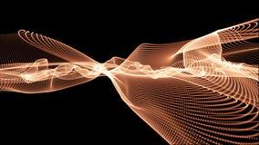 De abstracte Achtergrond van het Netwerk van lijnen Stock Fotografie