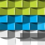 De abstracte achtergrond van het origamiconcept Royalty-vrije Stock Foto