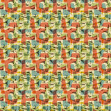 De Abstracte achtergrond van het patroon Stock Foto's