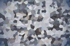 De abstracte achtergrond van het pixel veelhoekige ontwerp stock illustratie