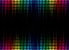 De abstracte Achtergrond van het Spectrum Stock Fotografie