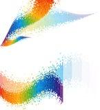 De abstracte achtergrond van het spectrum. Royalty-vrije Stock Foto's