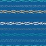 De abstracte achtergrond van het streep naadloze patroon royalty-vrije illustratie